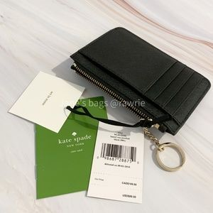 kate spade Accessories - New Kate Spade Jeweled Bitsy Card Holder Key Ring